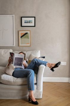 At Home With Russell & Bromley — Brittany Bathgate