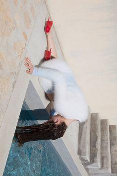 POSITION/LIGHTING Anna de Rijk photographed Viviane Sassen for Double Magazine