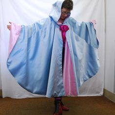 Fairygodmother Cape Adult Size by FairyGodmother4Hire on Etsy, $78.00