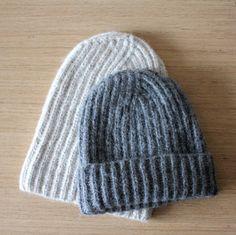 8d0af682450 Alpaca wool warm winter ribbed beanie hat Unisex