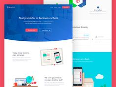 MBA e-Learning Landing Page by Paulo Cunha