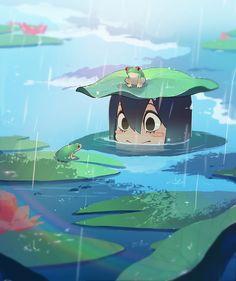 Tsuyu-chan | Boku no Hero Academia