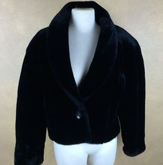 Ideology Womens Plus Size Faux Fur Running Athletic Jacket Black XX-Large