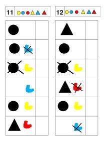 atelier logique formes - chez Camille Logic Puzzles, Perception, Activities, Education, Maths, Camille, Geometric Fashion, Kids Math, School