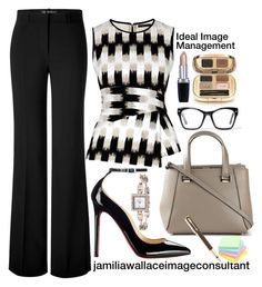A fashion look from July 2015 featuring zipper shirt, Versace and tote bag purse. Browse and shop related looks. Swag Outfits For Girls, Classy Outfits, Cute Outfits, Work Fashion, Fashion Brand, Fashion Outfits, Womens Fashion, Ideal Image, Outfits Mujer