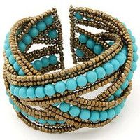 beaded wave bracelet - Google Search