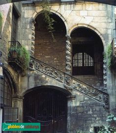 Barcelona - Carrer Montcada - Palau Dalmases