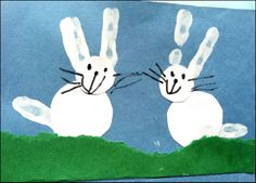 march preschool crafts | did this fun bunny craft with the kids at the preschool last week in ...