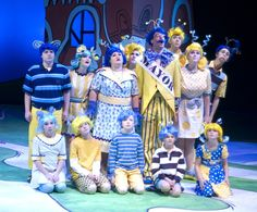 Seussical the Musical - Hair and Make-up by Molly Hill Pack, via Behance