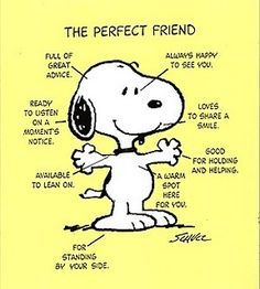 Snoopy friend
