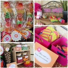 Awesome Hawaiian Luau Party.  See more party ideas at CatchMyParty.com #hawaiianpartyideas