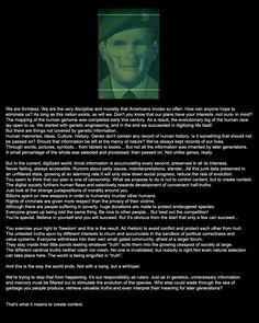 What's scary about this is that it mirrors our society today... MGS2 saw our future before it happened. Either they were in on it (hide in plain sight)or tried to warn us.
