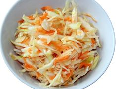 Kapustový šalát s mrkvou Dressing, International Recipes, Cabbage, Vegetables, Foods, Coleslaw Salad, Cooking, Essen, Food Food