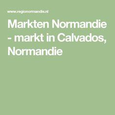 Markten Normandie - markt in Calvados, Normandie