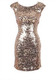 Lovee!!!! New Years dress? Open-Back Sequin Bodycon - fr