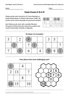 picture about Hidato Printable known as 9 Least difficult Variety Puzzles - Hidato shots in just 2017 Range