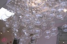 Bubble Ball Chandelier (link includes directions)