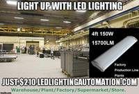 LED Linear High Bay Light 12,500 Lumen 10 Year Warranty Lighting Automation, Led Street Lights, 10 Years, Light Up, Bulb, The Unit, Onions, Light Bulb, Light Globes