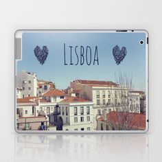 #Society6                 #love                     #Lisbon #Love #Laptop #iPad #Skin #Sabine #Doberer #Society6                  Lisbon Love Laptop & iPad Skin by Sabine Doberer | Society6                                             http://www.seapai.com/product.aspx?PID=1796769