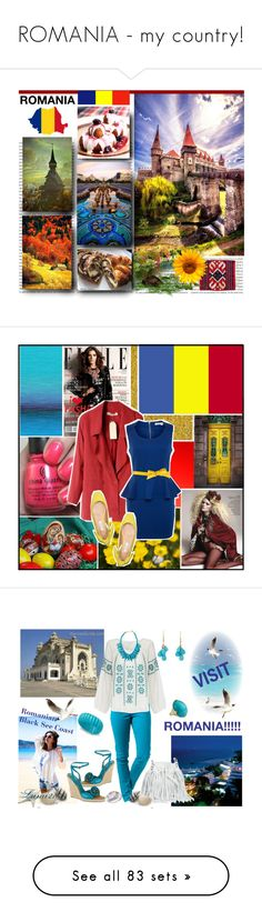 """ROMANIA - my country!"" by kumi-chan ❤ liked on Polyvore featuring art, country, China Glaze, Glamorous, Cacharel, Rip Curl, Star Mela, Kate Spade, Ippolita and Ten Thousand Things"
