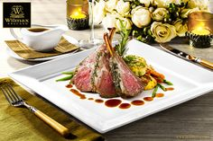 NEW TRENDY ITEMS FROM WILMAX  Restaurant tableware: square plates