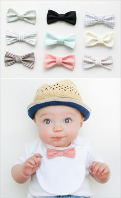 Bow tie bibs this is so cute!!!!!!!