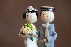 cake toppers!! and a great ring photo