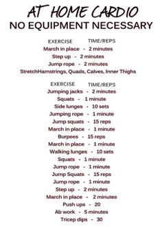 cardio workouts at home 1000 images about workout routines on daily 12210