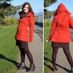 Minoru jacket pattern from Sewholic