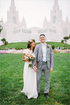 San Diego LDS Temple @weddingchicks
