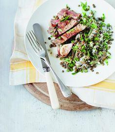 lamb and lentils