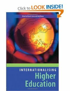 Internationalising Higher Education: Enhancing Learning, Teaching and Curriculum Sally Brown, Higher Education, Curriculum, Teaching, Amazon, Books, Resume, Amazons, Libros