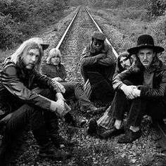 "The Allman Brothers Band. ""The Allman Brothers Band combined deeply Southern strains of music — blues, country, and gospel — with boisterous rock & roll and their jazzy, jam-oriented style."" (Rolling Stone)"