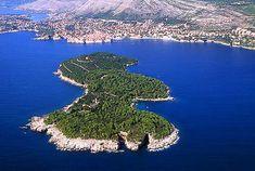 Lokrum Island and nature park near Dubrovnik