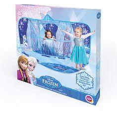 Die Schwestern aus Frozen laden unsere Kleinsten zu sich nach Hause ein. Mit dieser orginellen Spielkulisse werden Kinderträume war. <br />  <br />  Details:<br />  Abmessungen: (LxBxH) ca. 129 x 100 x 92 cm