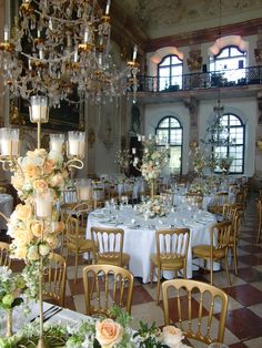 Marble Hall Wedding Decorations, Table Decorations, Marble, Table Settings, Bouquet, Wedding Inspiration, Weddings, Flowers, Furniture