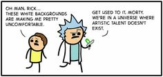 Rick and Morty Cyanide and Happiness Edition!