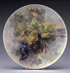 Fragile Beauty - Painted porcelain plates and vases by Franz Bischoff Fine Porcelain, Porcelain Ceramics, Ceramic Bowls, Ceramic Art, Painted Porcelain, Porcelain Jewelry, Glass Ceramic, Ceramic Mugs, Stoneware