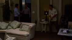 "Burn Notice 3x13 ""Enemies Closer"" - Michael Westen (Jeffrey Donovan), Sam Axe (Bruce Campbell) & Larry Sizemore (Tim Matheson)"