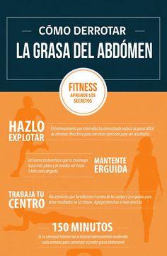 Secretos para eliminar la grasa abdominal