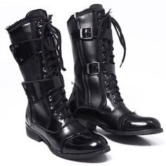 12 male high-leg boots european version of the fashion punk boots denim boots mens boots on AliExpress.com. 10% off $44.68