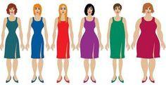 Kledingtips voor elk figuur!Lichaamstypes
