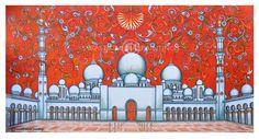#kerala Muralpaintings # muralpaintings in dubai # mural art