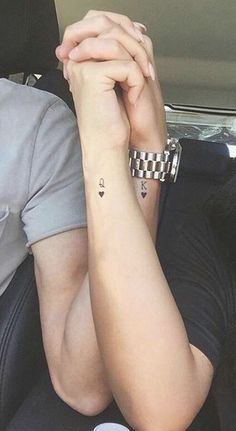 7826764a14fce 30 of the Best Matching Tattoos to Get with Your Most Favourite Person. Couple  Tattoo ...