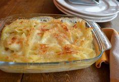 pasta al forno,pasta con besciamella,pasta al forno bianca,Le Ricette di Tina,