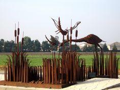 Image detail for -Metal Marsh 2005 - installations of Phillip Glashoff's work