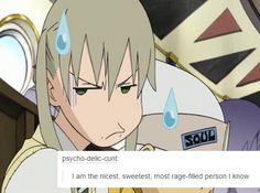 Soul Eater + text posts