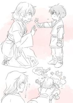 Akatsuki no Yona / Yona of the dawn anime and manga    Hak Soowon and Yona
