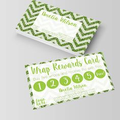 It works business cards,wraps, rewards card, Loyalty cards, punch cards, customer, frequent, business card,blitz,those crazy wraps, itworks