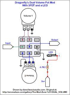 Switchable Volume Attenuator Wiring Diagram guitars